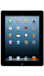 Apple iPad 4 with Wi-Fi + Cellular 32GB Black