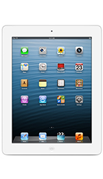 Apple iPad 4 with Wi-Fi + Cellular 128GB White